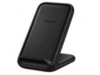 Incarcator Retea Wireless Samsung Fast Charge 2, 15W, Negru, Blister EP-N5200TBEGWW