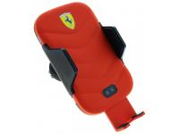 Incarcator Auto Wireless Ferrari, Fast Charge, 10W, Rosu, Blister FECCWLPDRE