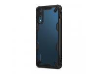 Husa TPU Ringke Fusion X pentru Huawei P20, Neagra, Blister FXHW0001-RPKG
