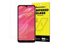 Folie Protectie Ecran WZK pentru Huawei Y7 Prime (2019), Sticla securizata, Blister