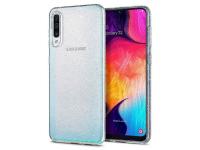 Husa TPU Spigen Liquid Crystal Glitter pentru Samsung Galaxy A50 A505 / Samsung Galaxy A50s A507 / Samsung Galaxy A30s A307, Transparenta, Blister 611CS26441
