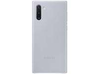 Husa Piele Samsung Galaxy Note 10 N970 / Samsung Galaxy Note 10 5G N971, Leather Cover, Gri EF-VN970LJEGWW