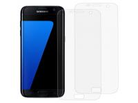 Folie Protectie Ecran OEM pentru Samsung Galaxy S7 edge G935, Plastic, Full Face, Edge Glue, Set 2 buc, 3D, Blister