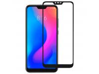Folie Protectie Ecran OEM Xiaomi Mi A2 Lite, Sticla securizata, Full Face, Full Glue, 9H, Neagra, Blister