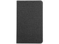 Husa Tableta TPU - Textil Totu Design Voltage Craft Cloth pentru Huawei Mediapad M5 Lite 8, Neagra, Bulk
