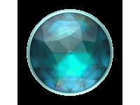 Suport Stand Adeziv Popsockets PopGrip Premium pentru telefon, Disco Crystal Blue, Blister Original