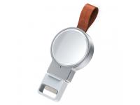 Suport Dock Incarcare Baseus Dotter Dedicat pentru Apple Watch, Alb, Blister WXYDIW02-02
