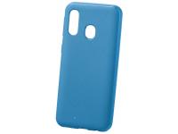 Husa TPU Goospery Mercury Style Lux pentru Samsung Galaxy A40 A405, Albastra, Blister