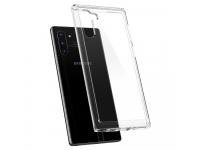 Husa TPU Spigen Crystal Hybrid pentru Samsung Galaxy Note 10 N970, Transparenta, Blister 628CS27409