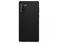 Husa TPU Spigen Liquid Air pentru Samsung Galaxy Note 10 N970, Neagra, Blister 628CS27373