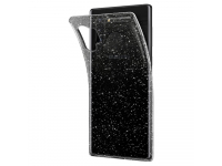 Husa TPU Spigen Liquid Crystal Glitter pentru Samsung Galaxy Note 10+ N975, Transparenta, Blister 627CS27328