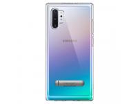 Husa Plastic - TPU Spigen Ultra Hybrid S pentru Samsung Galaxy Note 10+ N975, Transparenta, Blister 627CS27334