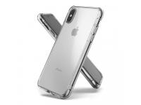Husa Plastic - TPU Ringke Fusion pentru Apple iPhone X / Apple iPhone XS, Transparenta, Blister FSAP0025
