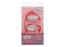 Handsfree Casti On-Ear Gjby EXTRA BASS, GJ-04, Fara microfon, 3.5 mm, Roz, Blister
