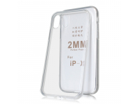 Husa TPU OEM  2mm pentru Apple iPhone X / Apple iPhone XS, Transparenta, Bulk