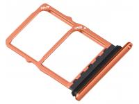 Suport Card / SIM 2 - Suport SIM Rosu (Amber Sunrise) Huawei P30