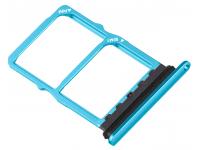Suport Card / SIM 2 - Suport SIM Albastru (Aurora) Huawei P30