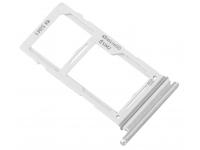 Suport Card / SIM 2 - Suport SIM Alb (Prism White) Samsung Galaxy S10e G970 Dual SIM
