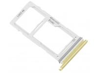 Suport Card / SIM 2 - Suport SIM Galben (Canary Yellow) Samsung Galaxy S10e G970 Dual SIM