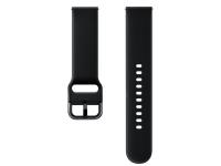 Curea Ceas Sport Band pentru Samsung Galaxy Watch Active / Galaxy Watch (42mm) / Gear Sport, 20 mm, Neagra, Blister, ET-SFR50MBEGWW