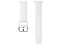 Curea Ceas Sport Band pentru Samsung Galaxy Watch Active / Galaxy Watch (42mm) / Gear Sport, 20 mm, Alba, Blister, ET-SFR50MWEGWW