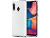 Husa TPU Spigen Liquid Crystal pentru Samsung Galaxy A20e, Transparenta, Blister 622CS27412