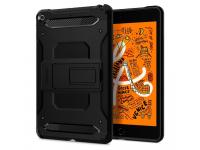 Husa Plastic Spigen Tough Armor Tech pentru Apple iPad mini (2019), Neagra, Blister