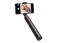 Selfie Stick cu Trepied si Declansator Camera Bluetooth Baseus SUDYZP-D19, Negru Rosu, Blister Original