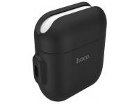 Husa Silicon Hoco WB12 pentru Airpods, Neagra, Blister