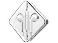 Handsfree Casti EarBuds HOCO M55 Memory Sound, Cu microfon, 3.5 mm, Alb, Blister