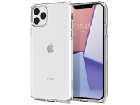 Husa TPU Spigen Liquid Crystal pentru Apple iPhone 11 Pro, Transparenta, Blister 077CS27227