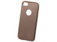 Husa Piele Tellur Slim pentru Apple iPhone 7 / Apple iPhone 8, Maro, Blister TLL121282