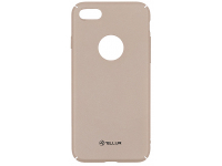 Husa Plastic Tellur Super Slim pentru Apple iPhone 7 / Apple iPhone 8, Aurie, Blister TLL121891