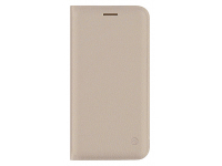Husa Piele Tellur Book pentru Apple iPhone 7 / Apple iPhone 8, Aurie, Blister TLL118954