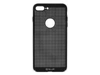 Husa Plastic Tellur Lightweight pentru Apple iPhone 7 Plus / Apple iPhone 8 Plus, Neagra, Blister TLL121273