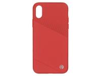 Husa TPU Tellur Exquis pentru Apple iPhone X / Apple iPhone XS, Rosie, Blister TLL121164