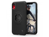 Husa Plastic Spigen Gearlock CF102 pentru Apple iPhone XR, Neagra, Blister 064CS25073