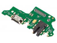 Placa Cu Conector Incarcare / Date - Conector Audio - Microfon Huawei P Smart Z