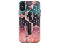 Husa Plastic - TPU OEM Rhombus Embossed pentru Apple iPhone XR, Verde, Bulk