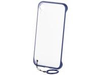 Husa TPU OEM Frosted Anti-alunecare, cu suport inel telefon pentru Samsung Galaxy S10+ G975, Albastra, Bulk