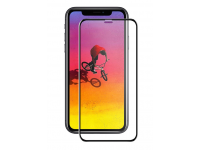 Folie Protectie Ecran Tellur pentru Apple iPhone 11, Sticla securizata, Full Glue, 3D, Neagra, Blister  TLL145303