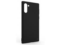 Husa TPU Tellur Soft Silicone pentru Samsung Galaxy Note 10 N970, Neagra, Blister TLL121216