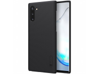 Husa Plastic Nillkin Super Frosted pentru Samsung Galaxy Note 10 N970, Neagra, Blister