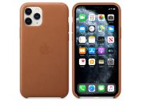 Husa Piele Apple iPhone 11 Pro, Maro, Blister MWYD2ZM/A