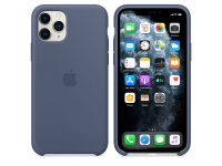 Husa Silicon Apple iPhone 11 Pro, Albastra, Blister MWYR2ZM/A