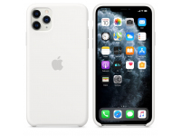 Husa Silicon Apple iPhone 11 Pro Max, Alba, Blister MWYX2ZM/A