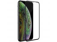 Folie Protectie Ecran Nillkin pentru Apple iPhone 11 Pro, Sticla securizata, Full Face, Edge Glue, 3D CP+ MAX, Neagra, Blister