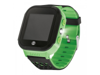 Ceas Smartwatch Forever Kids KW-200 Find Me, Localizare GPS / LBS, Verde, Blister
