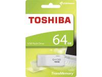 Memorie Externa Toshiba U202, USB 2.0, 64Gb, Alba, Blister THN-U202W0640E4