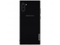 Husa TPU Nillkin Nature pentru Samsung Galaxy Note 10 N970, Gri, Blister